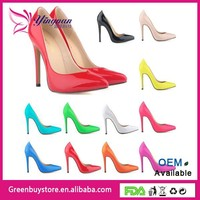 2015 Plus Size Women Pumps Sexy Ladies Brand New Design Wedding Party Evening Shoes New Pointed Toe High Heels Shoes