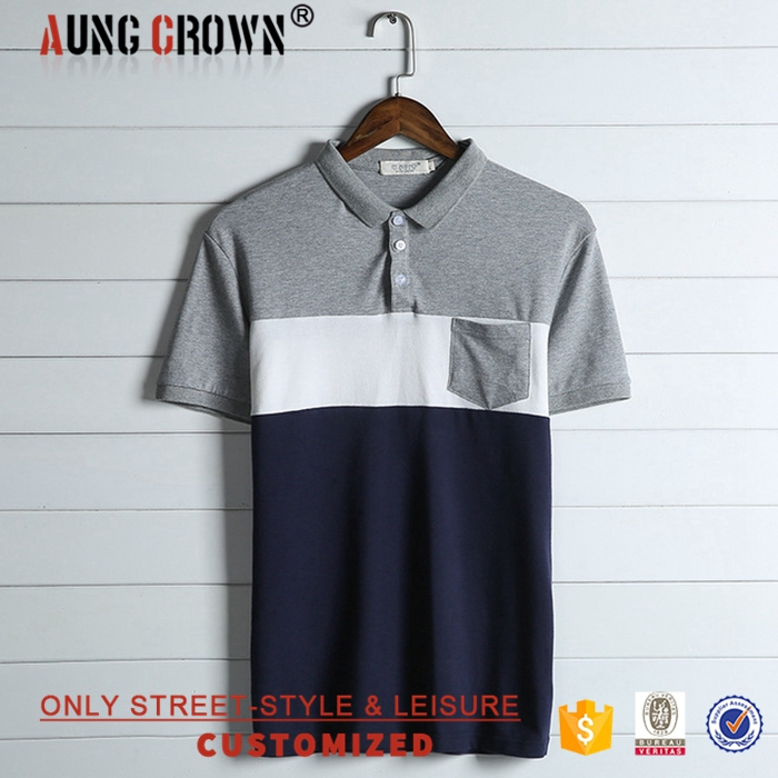 Handsome Low MOQ Custom Printed Men's Cotton China Factory Polo Shirt Top Quality