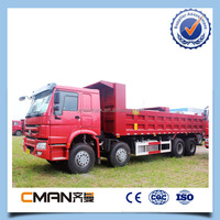 China HOWO 8*4 50Ton dump truck for sale in dubai