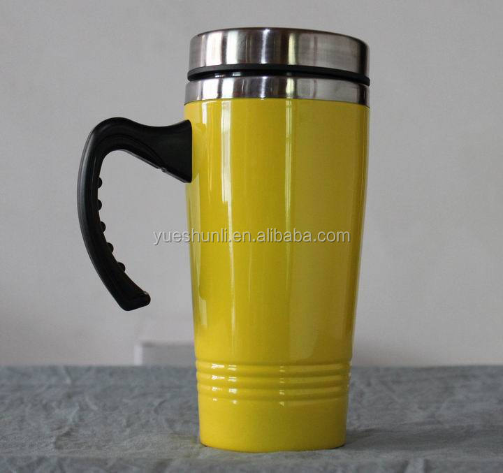 Factory Price China Supplier Travel Stainless Steel Double insulation Vacuum Cup with Hanlde