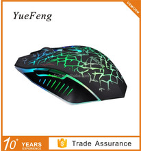 2.4GHZ 6D Optical Wireless Mouse 7 Color Breathing LED Light