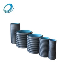 High quality Large plastic 24 inch corrugated drain pipe price