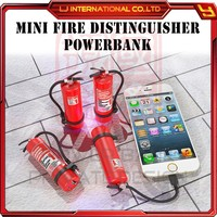 2016 new special design 3200mAh power bank promotional gift OEM ODM powerbank fire distinguisher