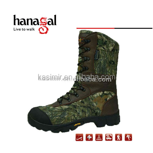 China camouflage custom made hunting boots, Competive price