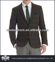 fashion slim fit men blazer designs