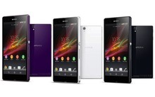 Wholesale! anti-glare touch screen protector film for sony experia Z
