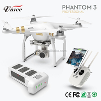 Hot Sale!! drones and robotics DJI phantom 3 professional rc helicopter with camera and gps.