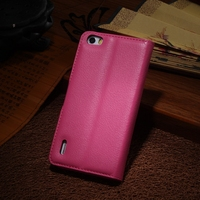 Bottom price Best-Selling genuine leather case for huawei honor 6