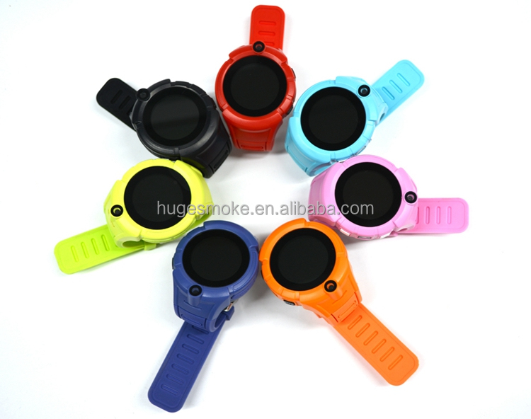 Q360 Popular round screen SOS call WIFI GPS LBS real time tracking kids gps watch mobile phone