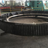 Coal Mill Large Casting Gear Wheel