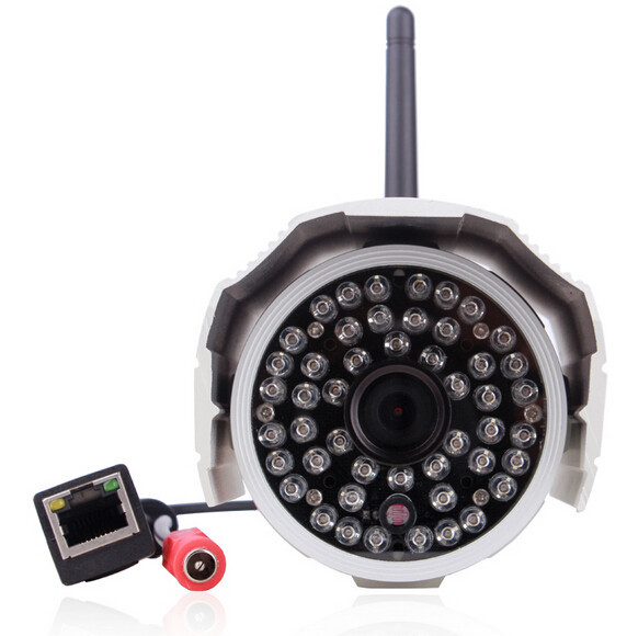 H.264 Video Compression Outdoor HD 720P CCTV Wireless Surveillance IP Camera WIFI For Home Security Monitoring System