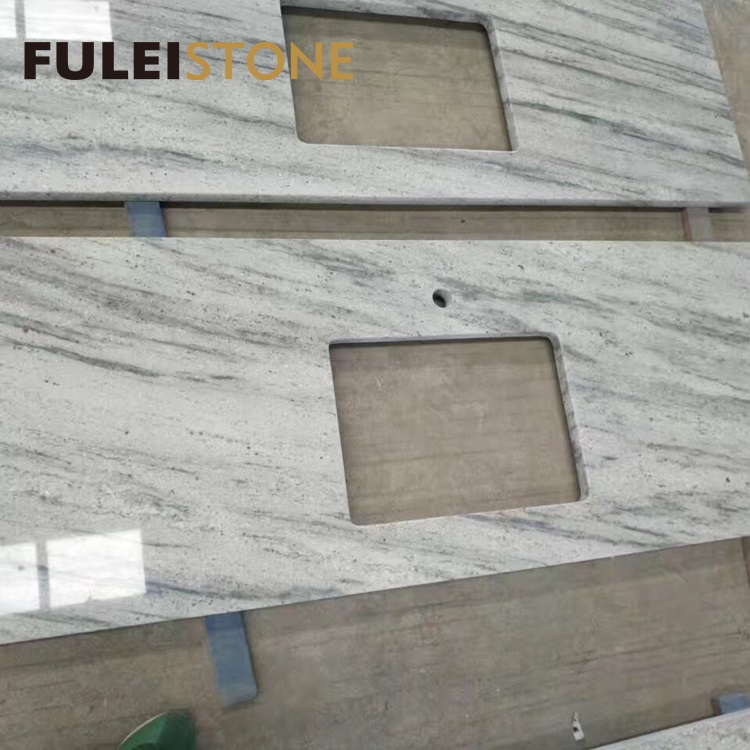New river white granite price for kitchen countertop