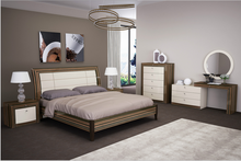 Modern Style Comfortable Back Resk Grace King Size Bed For House Or Hotel Sample Room Use