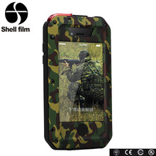Classical Style Camouflage waterproof custom phone cases for iphone 4s