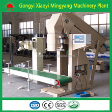 2016 The most popular wood sawdust pellets package machinery plant price/feed pellet packing machine008613838391770
