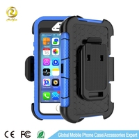 Heavy Duty Belt Clip Holster Case for iPhone 5 5S se