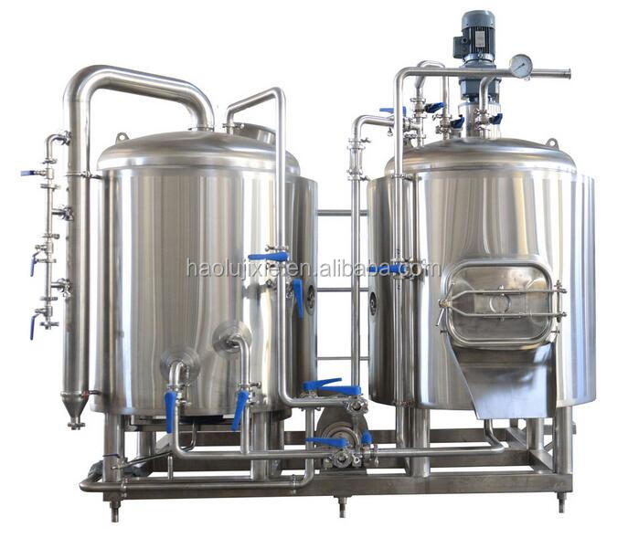 100 300L 500L 1000L Per Batch Micro Beer Brewery / Brewing Equipment with 1000L Brewhouse and Fermenter