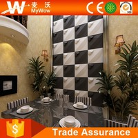 [WP-8] Best Selling Modern Eco-friendly Plant Bamboo Fiber Interior Decoration 3D Wall Panels