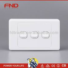FND AS306 3-gang electrical switches