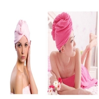 Microfiber Magic Drying Turban Wrap Towel/hat/cap Hair Dry Quick Dryer Bath Salon Towels