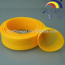 fray resistant nylon/pet braided expandable sleeving