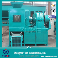 CHINA YUKE High Production Low Price Charcoal Powder Ball Briquette Machine Coal Fines Briquetting making Machine