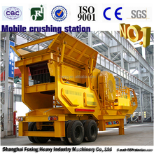 High Production Capacity mobile crushing plant australia and europe