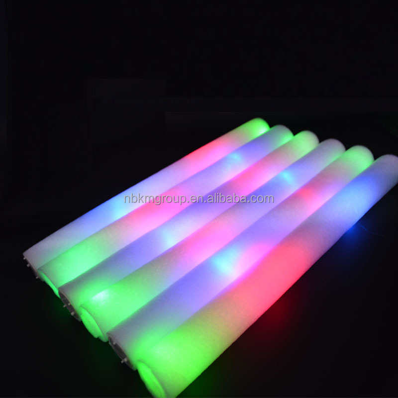 Party Favor Customized LED Glow Foam Stick