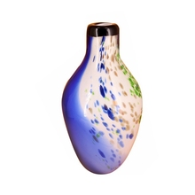 Murano blown glass flower vase