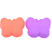Fashon Group Colorful Food Quality Silicone Cake Mold Set