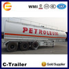petroleum transport tanker truck semi trailer,crude oil tanker semi trailer for sale