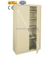 2015 cheap Chinese modern furnitures of office double swing doors metal file storage cupboard