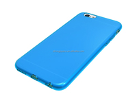 2015 mobile phone accessories TPU Silicon Silicom Gel slim case for iPhone 6S factory in china