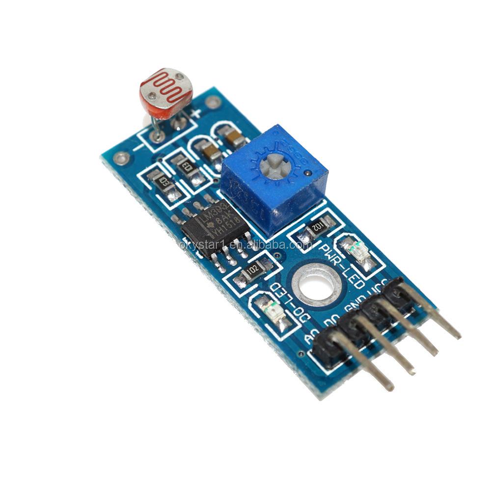 Photosensitive Resistance Sensor Module Light Sensor Ldr Sensor ...