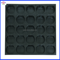 Non-stick cupcake baking tray,24 cups eco friendly donut pan