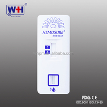 WHPM FOB rapid diagnostic feces test kit/fecal occult blood test