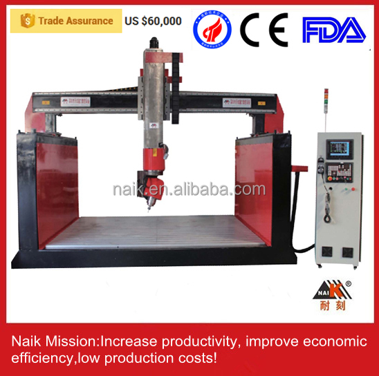 Multipurpose cnc router 2015 machine wood&stone&metal/5 axis cnc router