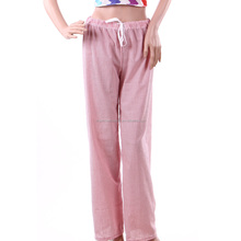 Monogrammed High Quality Striped Seersucker Pajama Trousers