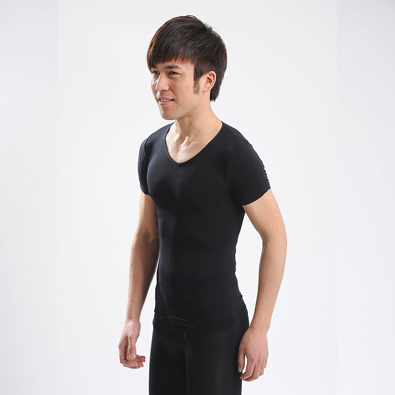 Fancy <strong>Design</strong> All Kinds Autumn Basic Blank Tight Men Long Sleeve T Shirt
