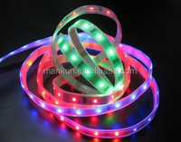 music changing led strip light led rgb flexible ribbon strip light