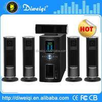 6.5 inch multimedia speaker in home theater with usb fm radio input