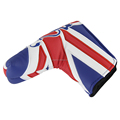 2015 New PU Leather Golf Head Cover for Scotty Cameron Taylormade Odysse NEW UK Flag for Winter