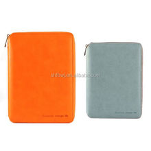 office cheap faux leather portfolio a5 notebook