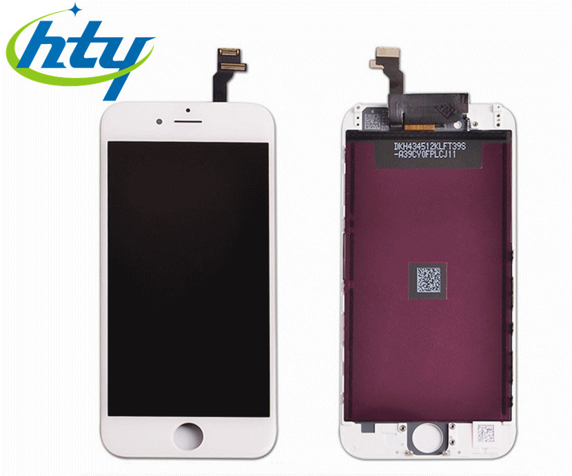 HTY General Digitizer Assembly for iphone6, for iphone6 Screen LCD Touch, for iphone6 screen replacement. white&black