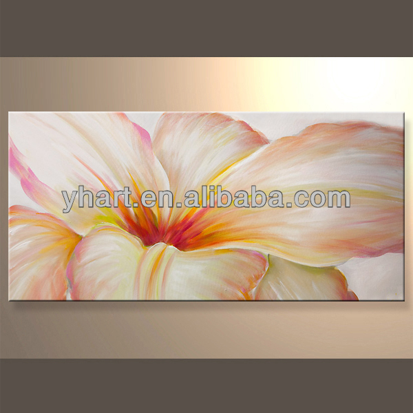 Wholesale famous flower painting wall pictures for living room