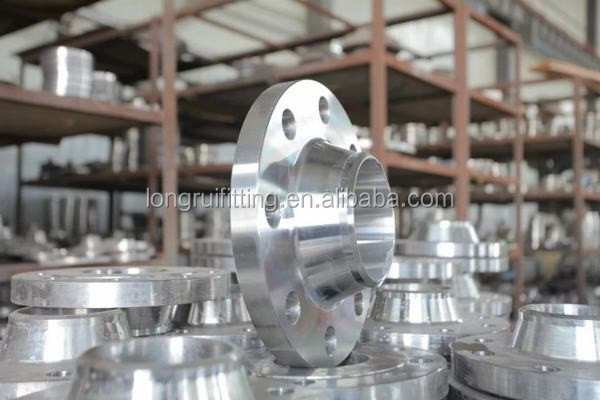 DIN standard PN16 carbon steel welding neck flanges
