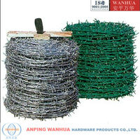 High Quality barbed wire roll price fence ( Professional factory ISO9001)