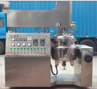 Top quality titling high shear 50L homogening mixer, cosmetic making machine