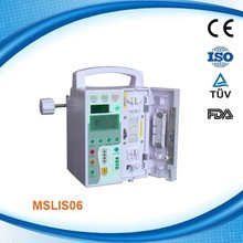 MSLIS06-R Hot sale portable infusion Syringe Pump for hospital use