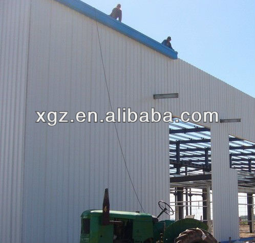 Steel Frame Factory Shed/Workshop,Warehouse